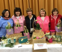 l to r: Anne, Leah, Val, Michelle and Suzi 'The Team' fundraising at our recently organised attic sale.