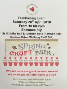 Spring Craft Fair 28 04 18