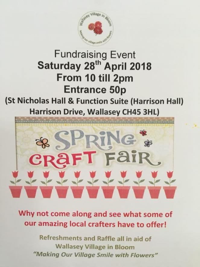 Spring Craft Fair 28 04 18