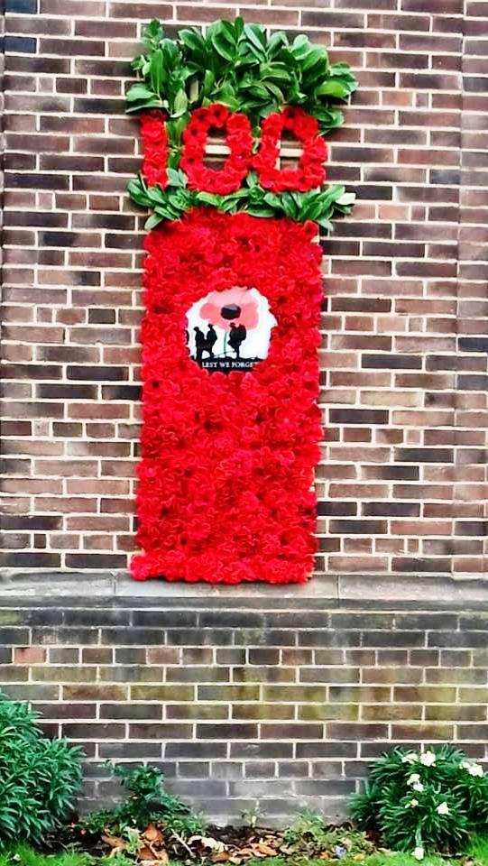 236 Poppy display