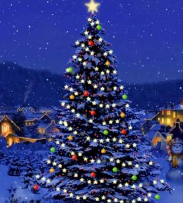 Christmas Tree Switch on
